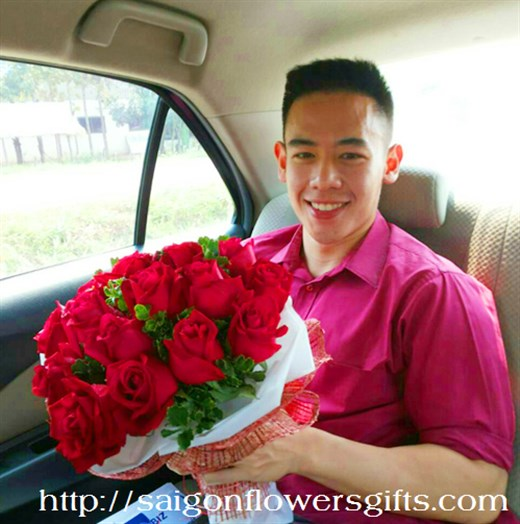 Flower Delivery to Saigon, Vietnam